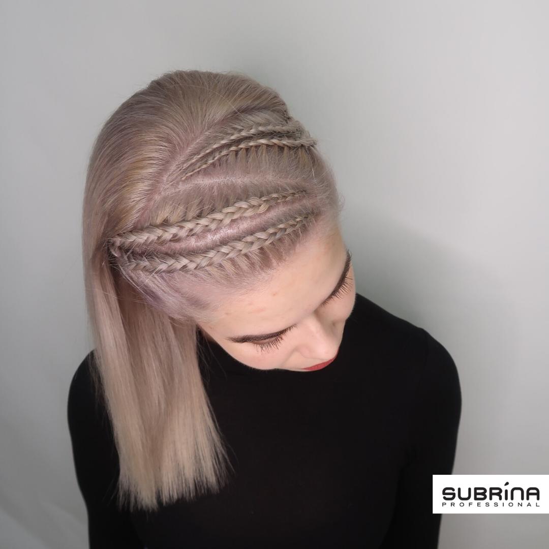 Silver braids