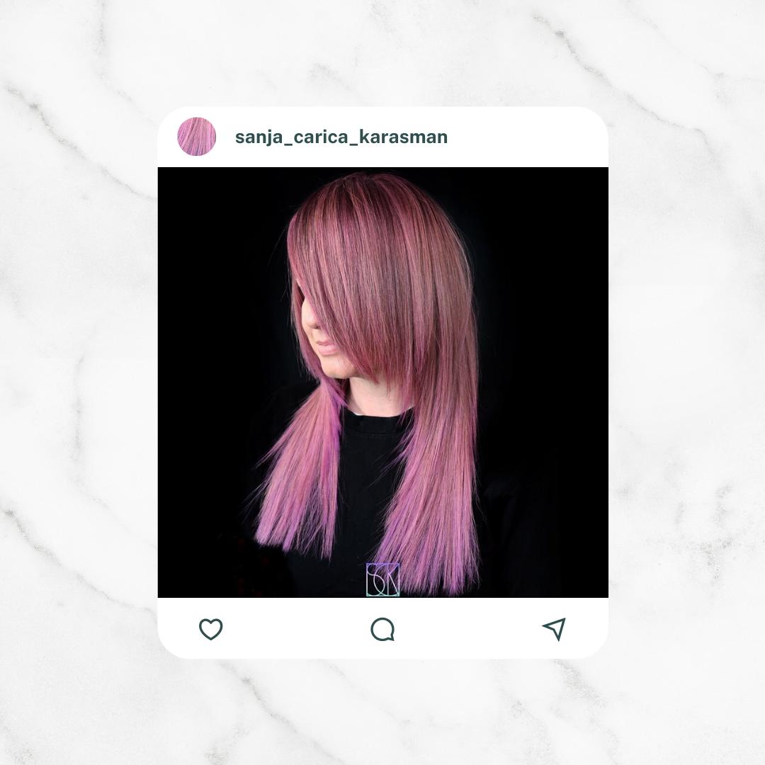 sanja pastel pink violet