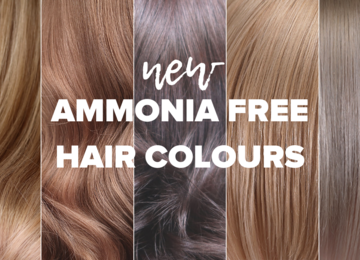 NEW Ammonia Free Hair Colours